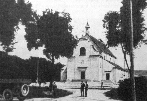 Костёл святого Казимира в 20-30-х годах